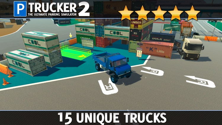 Trucker Parking Simulator 2 a Real Monster Truck & Lorry Driving Test screenshot-3
