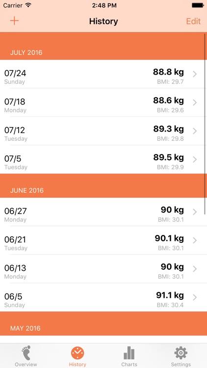 Weight Tracker Lite