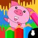 78.儿童涂鸦动物画画板拼图-宝宝简笔画画图书