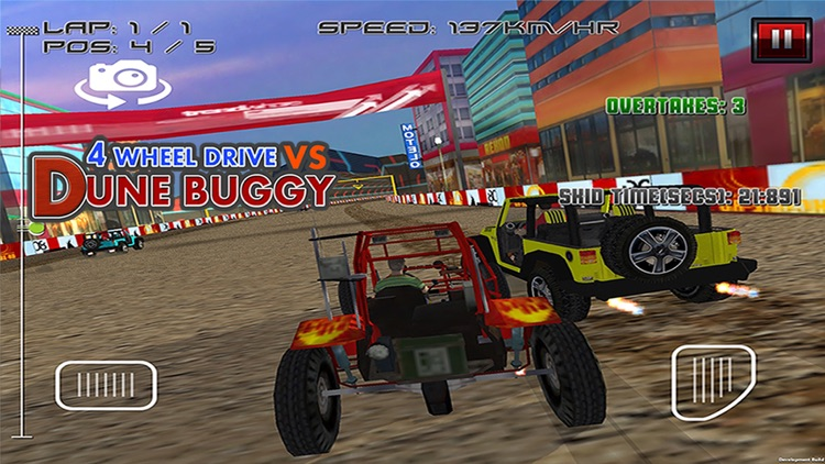 4 Wheel Drive Vs Dune Buggy - Free 3D Racing Game