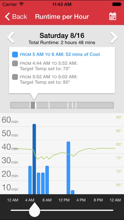 Wi-Fi enabled Radio Thermostat screenshot-3