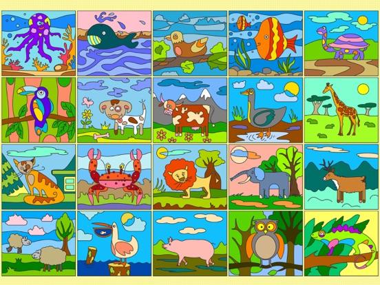 Рисуй по номерам - Животные + на iPad