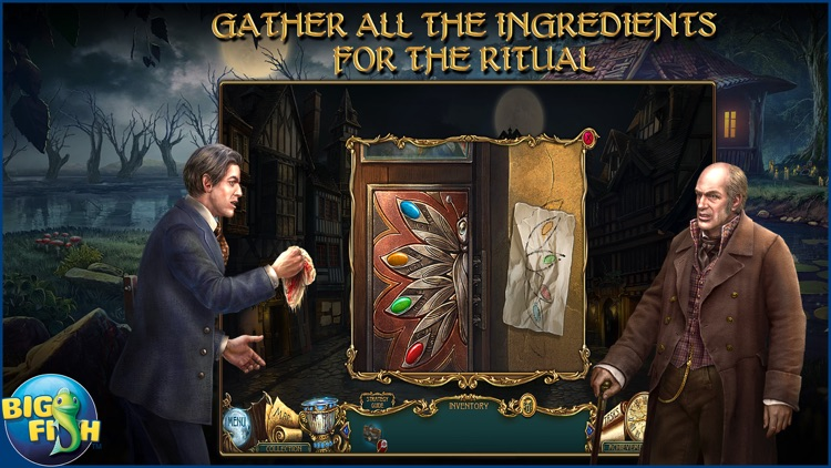 Haunted Legends: The Secret of Life - A Mystery Hidden Object Game (Full) screenshot-2