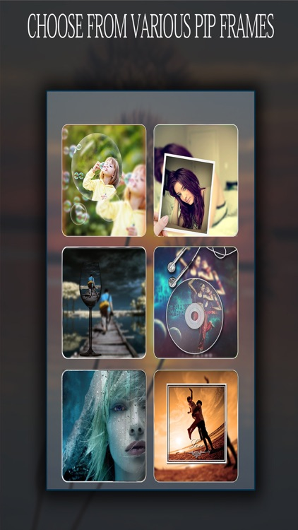Best PIp Camera - #1 Pip ( Pic in Pic ) Photo Editor With Shape and Frames