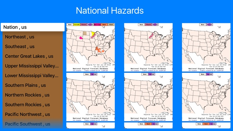 Instant NOAA Hazards Pro