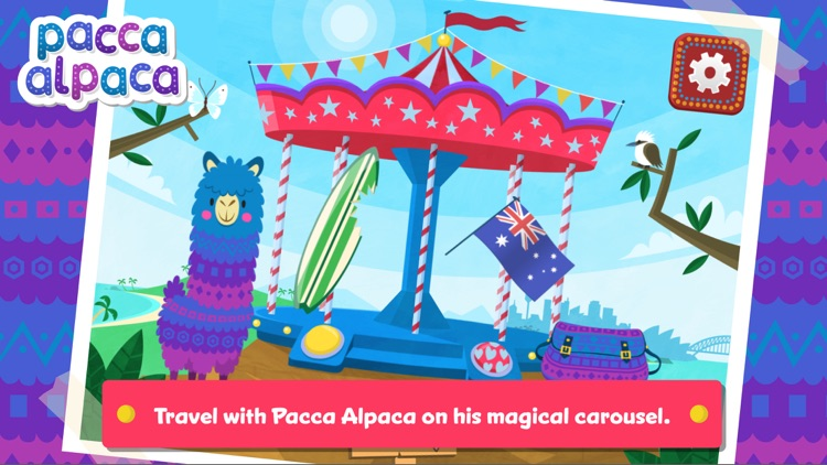 Pacca Alpaca – Basic language learning and educational games for children screenshot-0