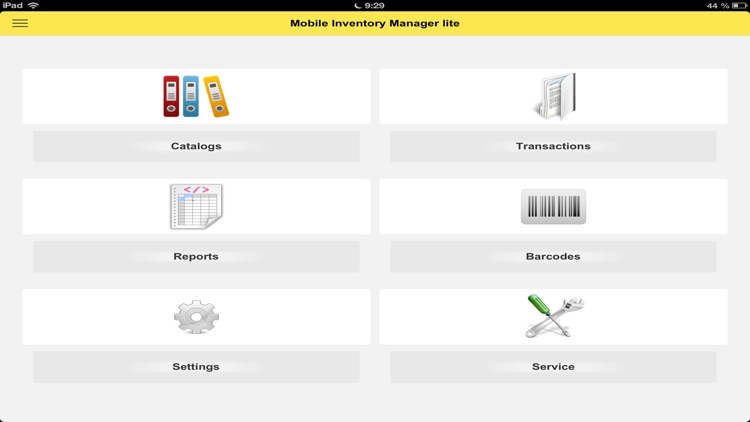 MOBILE MANAGER INVENTORY LITE screenshot-4