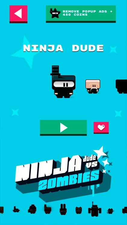 Ninja Dude vs Zombies - endless tap 'n' slash zombie arcade game screenshot-4