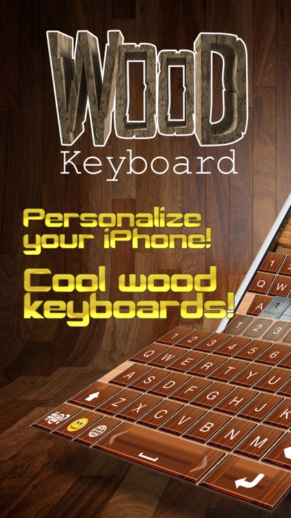 Wooden Keyboard Skins – Wood Themes for Keyboards with Cool Backgrounds and Fonts