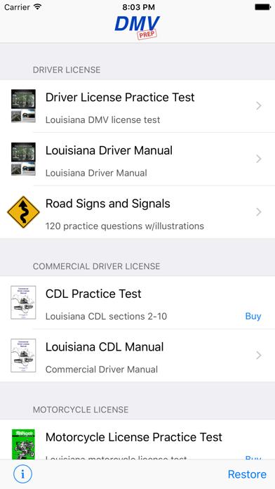 louisiana dmv drivers practice test