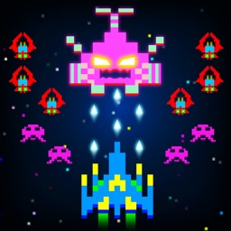 Space intruders: Galactic Attack