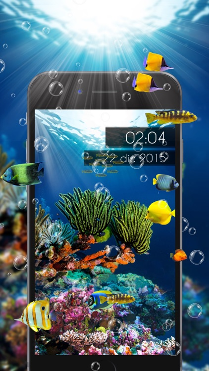 Amazing Aquarium Clock LITE