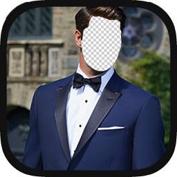 Make Me  GENTLEMAN - Men Suit Photos Montage Maker For Trendy Boys And Man