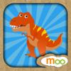 Los Dinosaurios - Sonidos de Dinosaurios, Dibujos, Puzzles y Actividades para los Niños con Moo Moo Lab