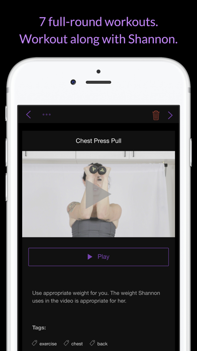 Chest & Back: Women's Home Workout Series screenshot three
