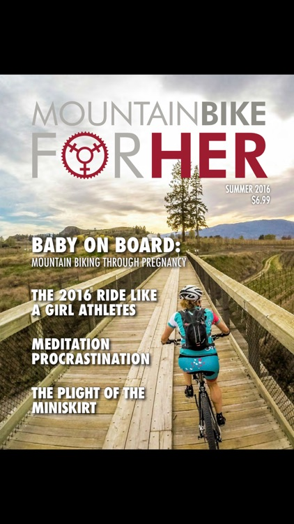 Mountain Bike for Her Magazine