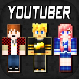 3D Youtuber Skins Collection - Pixel Texture Exporter for Minecraft Pocket Edition Lite