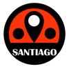 CREOSTORM MOBILE INTERNATIONAL LIMITED - チリサンティアゴ電車旅行ガイドとオフライン地図, BeetleTrip Santiago travel guide with offline map and Chile metrotren metro transit アートワーク