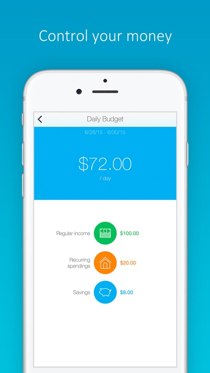 Daily Budget Original Pro screenshot-3