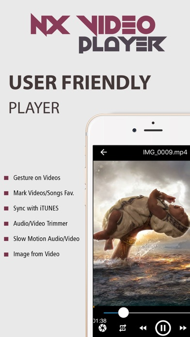 NX Player PRO - Play HD videos screenshot two