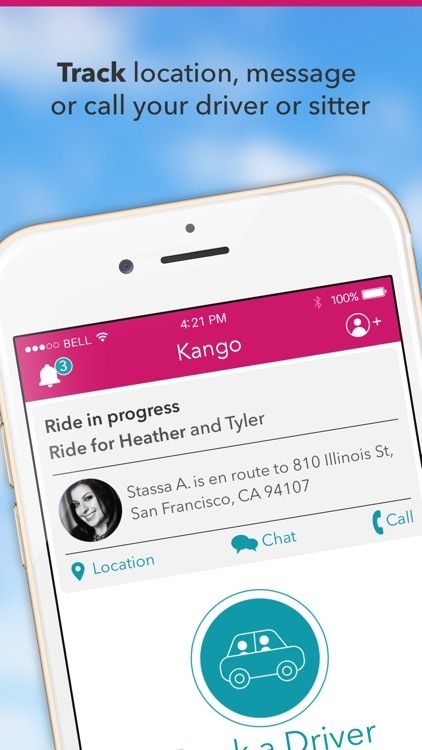 Kango - Rides and Childcare screenshot-4
