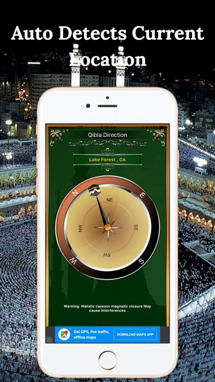 Qibla Compass-Finding Maccah Free
