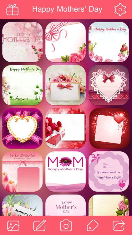 Mother's Day Photo Frame.s, Sticker.s & Greeting Card.s Make.r HD screenshot-3