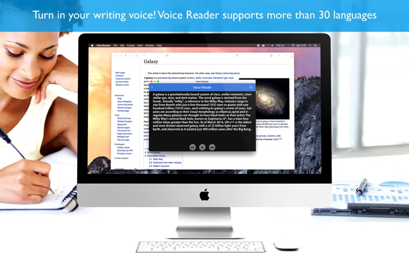 Voice Reader ( reader of texts with speech )