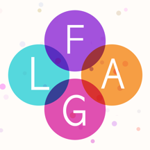 Flagbubbles! - Country Flag Word Whizzle Ruzzle Bubble Games