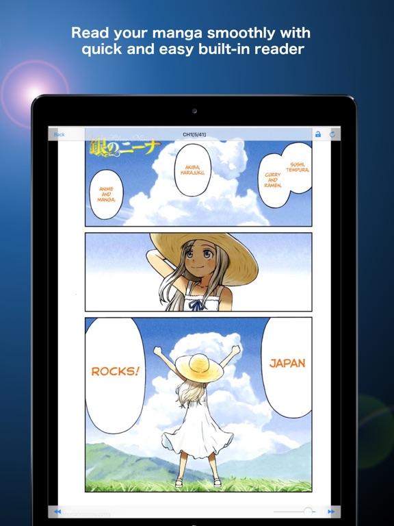 Manga Storm iPad