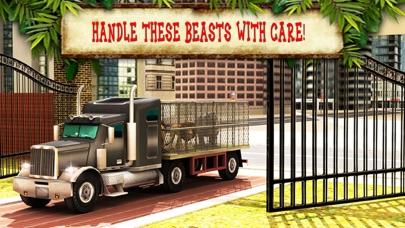 動物園の動物の輸送トラックの運転、駐車場マニアのおすすめ画像3