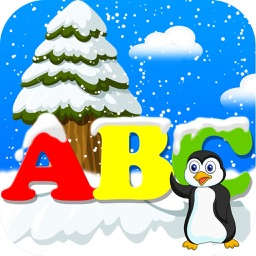 Snowfall ABC's for Toddler and Kindergarten