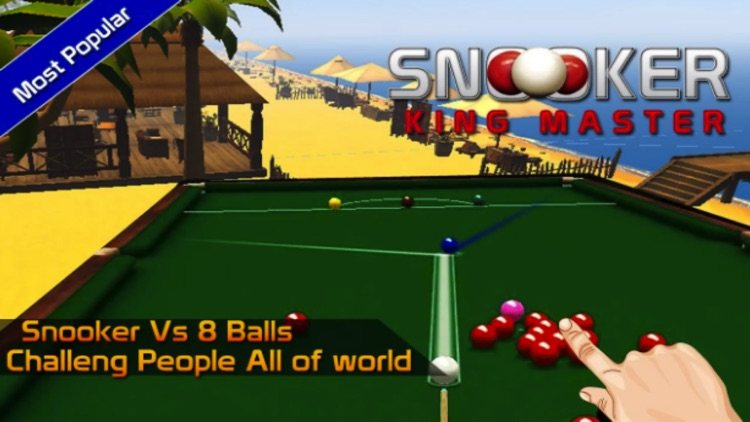Pok Snooker King Master Bash : 8 Ball , 9 Ball , Pool - House of Fun screenshot-4