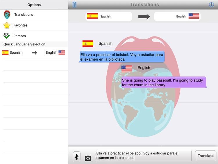 Translator with Speech HD Pro screenshot-3