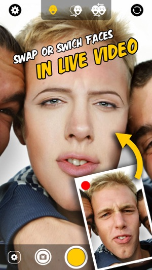 Live Face Change & Swap - Switch faces with Celebrities & Friends