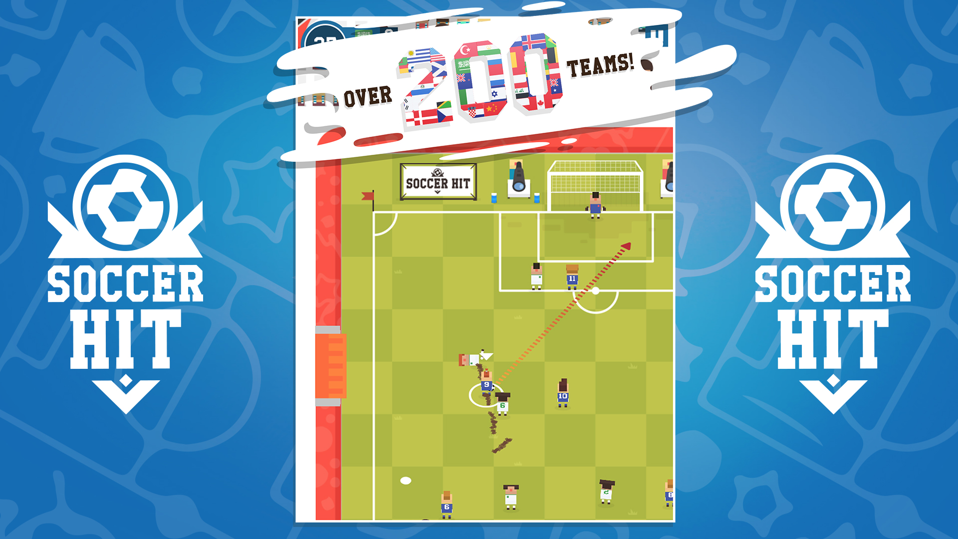 Soccer Hit - International Cup screenshot 11