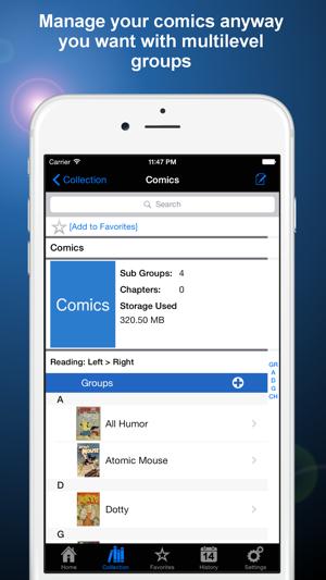 Manga Storm CBR on the App Store