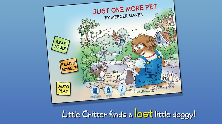 Just One More Pet - Little Critter