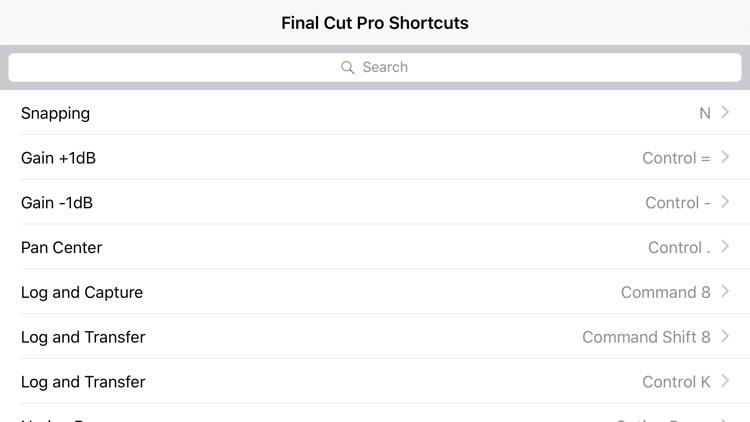 Shortcut: Final Cut Edition screenshot-3