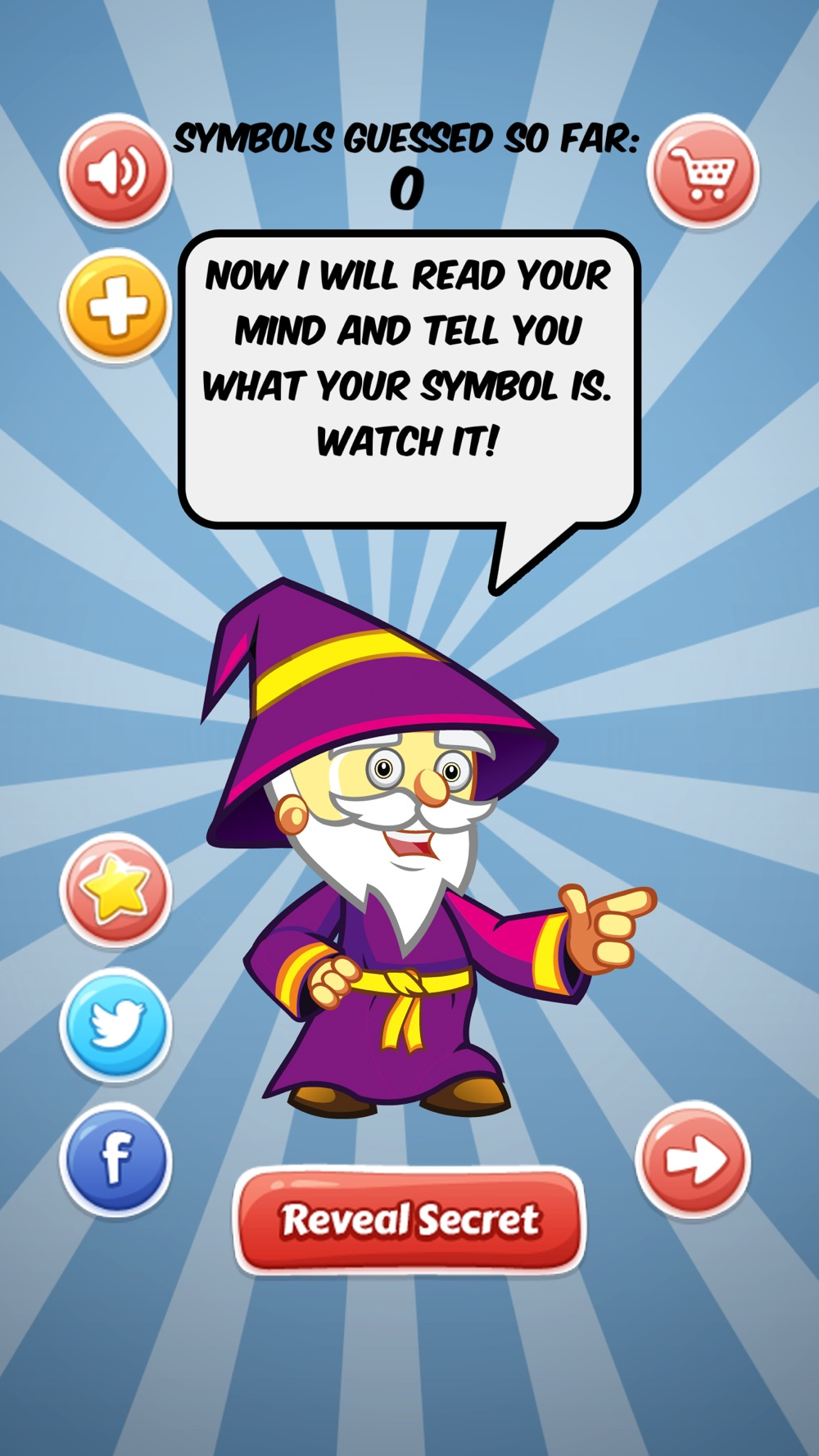 Mind Reader – The Wizard Can Guess What You Are Thinking
