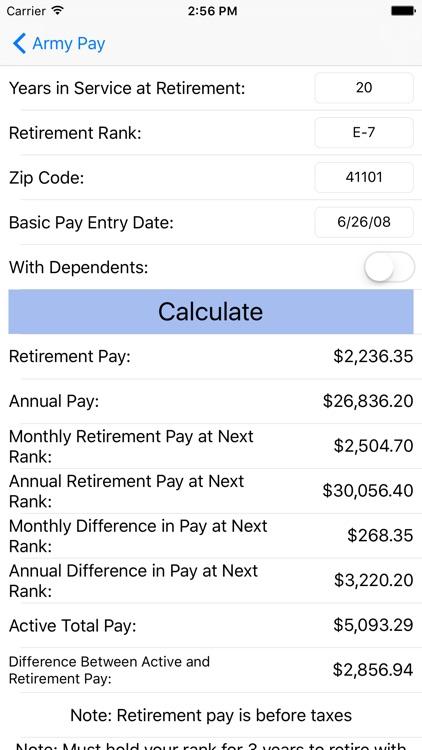 Army Pay screenshot-3
