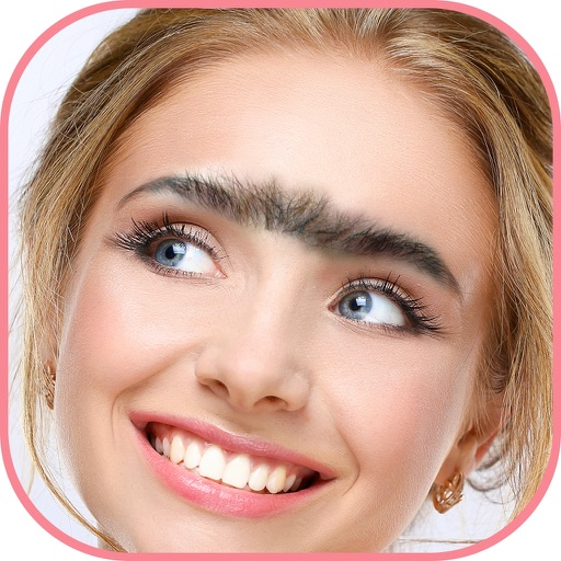 iBrows Booth – Eyebrow Makeover Photo Editor, Beauty Salon and Funny Face Changer Free