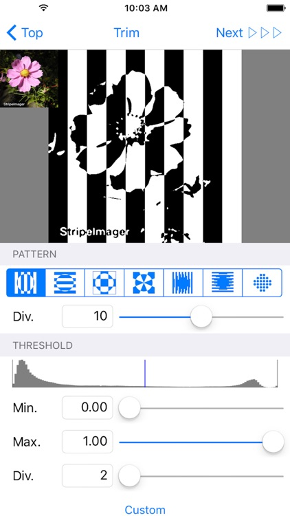 StripeImager - Stripe,Check,Zebra Pattern Art Generator screenshot-4