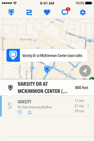 TransLoc Rider: Transit Tracking & Alerts screenshot 1