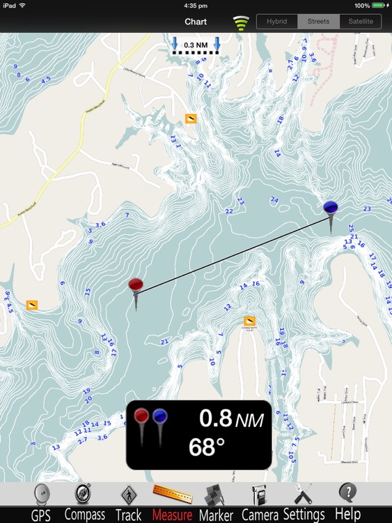 Lake Texoma GPS Charts Pro screenshot-0