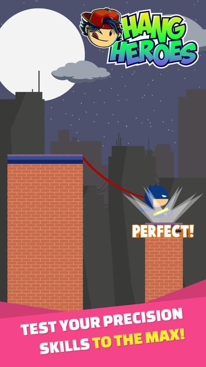 Hang Heroes: Rope Swing Arcade Game