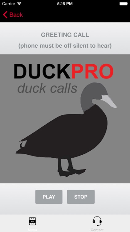 Duck Calls and Duck Sounds for Duck Hunting - BLUETOOTH COMPATIBLE screenshot-0