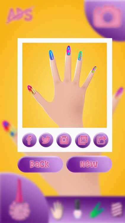 Nail Art Design – Manicure Make-over in a Trendy Beauty Salon for Girl.s screenshot-4