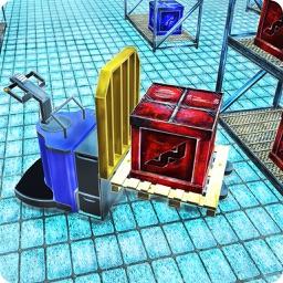 Warehouse Pallet Jack3D:Loader and Dumper of cargo