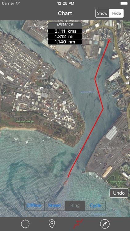 Oahu – Raster Nautical Charts